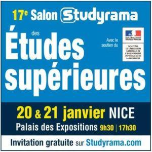 Studyrama - 20 et 21 Janvier 2017