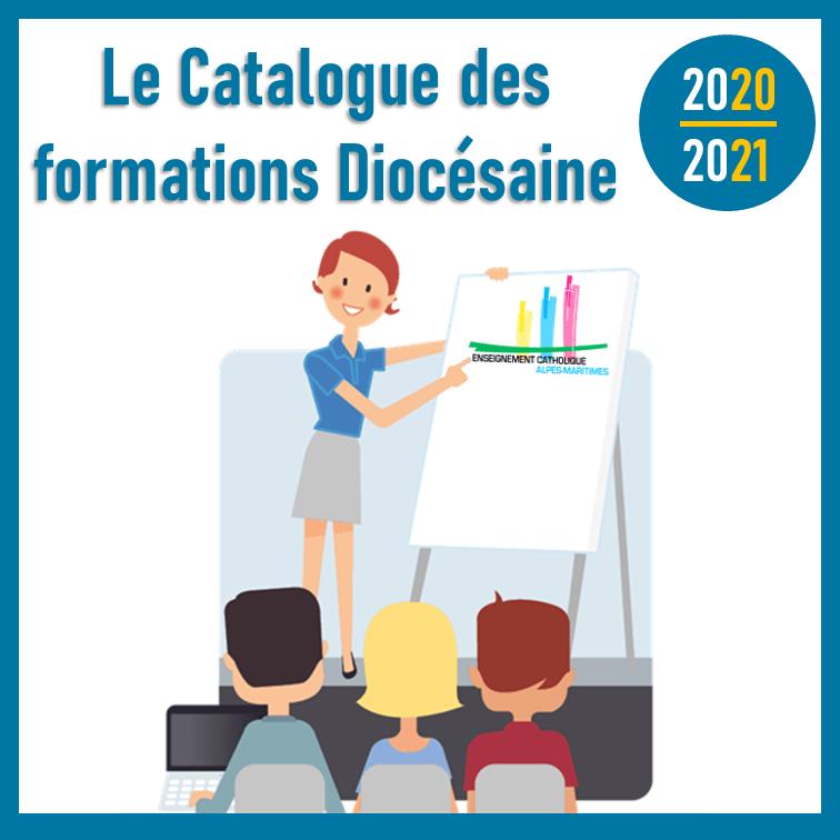 Catalogue des formations diocésaine 2020/2021.