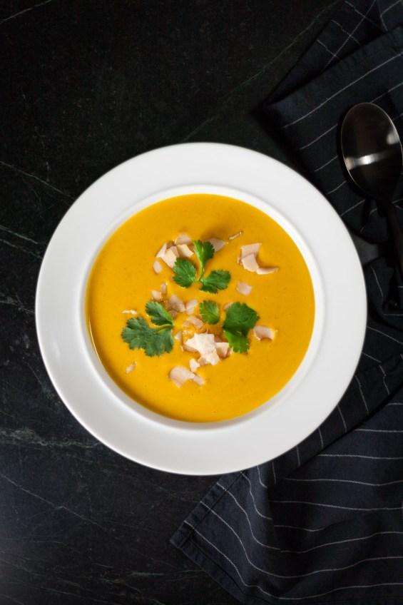 Coconut and Lentil Soup