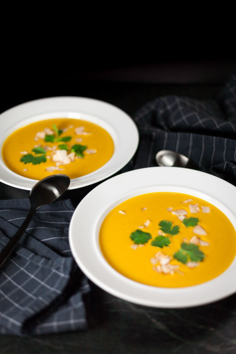 Coconut and Lentil Soup