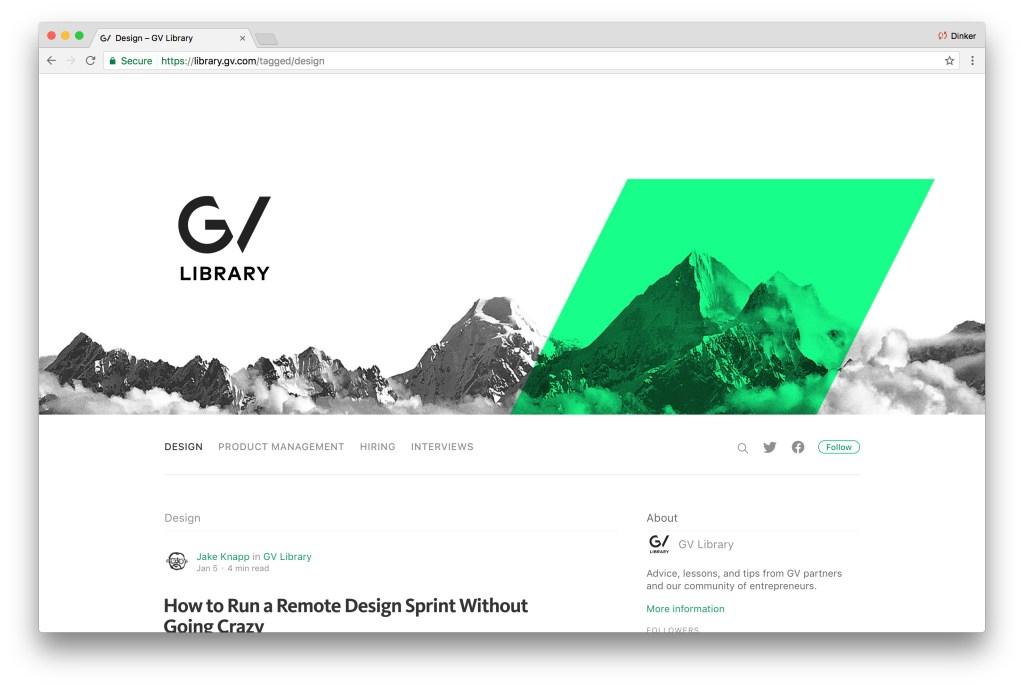 Design Dissonance Google Ventures 5