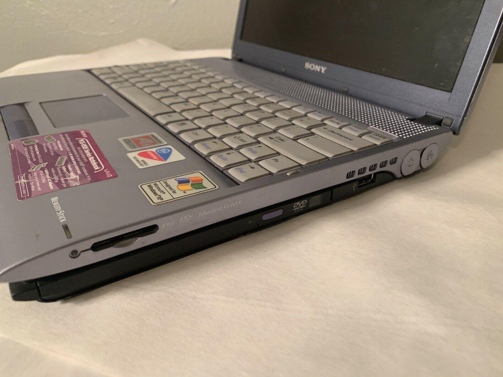 Installing Linux on Sony Vaio PCG-V505BX Laptop