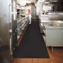 Kitchen Floor Rugs Drop In Stainless Steel Sink 厨房操作间地面防滑卷材黑色地毯 1 样板图片 效果图 帝肯 Ddk 帝