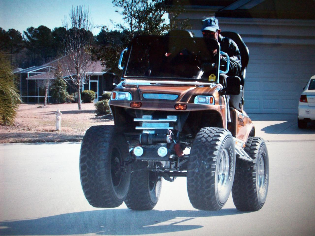 hight resolution of liv golf car wheelie poppin
