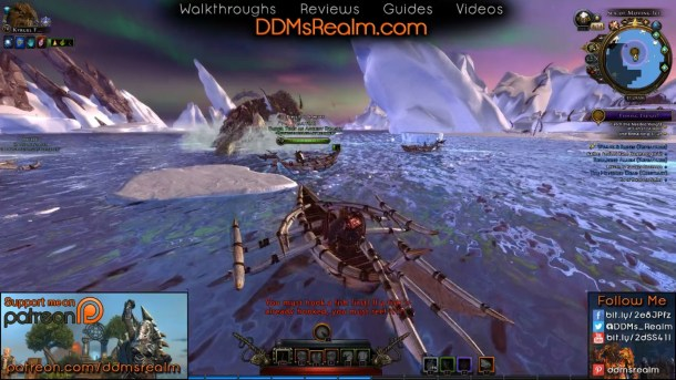 Fishing Frenzy Heroic Encounter in the Sea of Moving Ice in Neverwinter