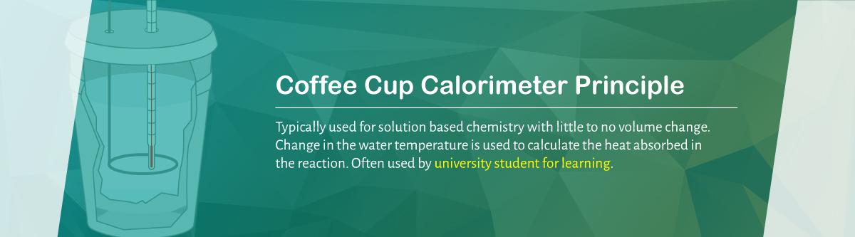 The Coffee Cup Calorimeter Principle   DDS Calorimeters