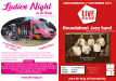 Persbericht Ladies Night & Live in De Kuip Round About Jazzband - posters