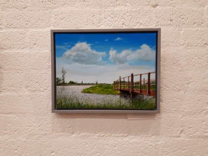 Expositie schilderijen Martin Ackermann (1)