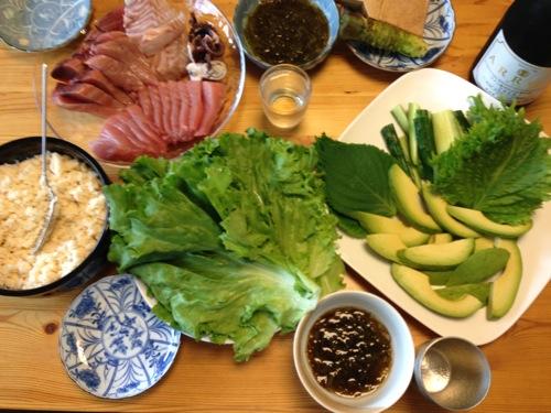 6手巻き寿司