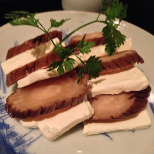 500いぶりがっこのクリームチーズ