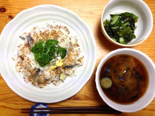 〆鯖寿司セット