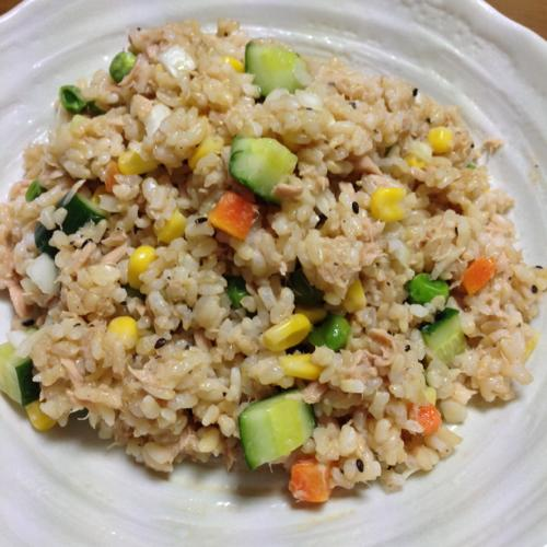 th_玄米サラダ