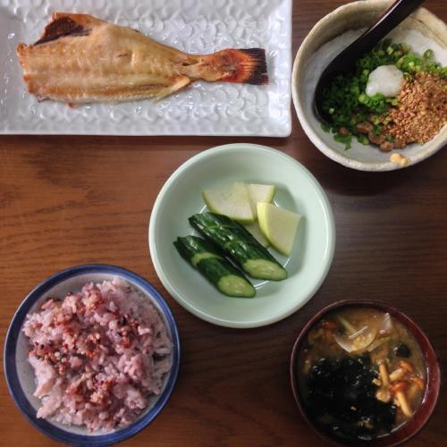 th_赤魚朝食