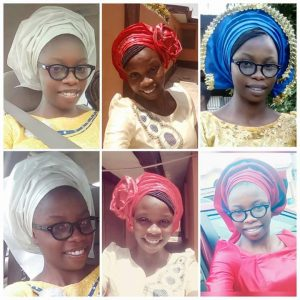 She is innovative, a hairstylist, a unique beauty... Toyosi!