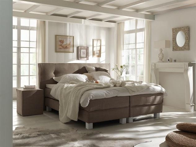 slaapkamer taupe wit - boisholz, Deco ideeën