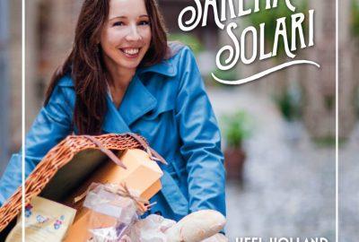 Cover van Het Italiaanse bakboek van Sarena Solari