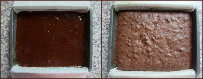 Pindakaas brownies met M&M
