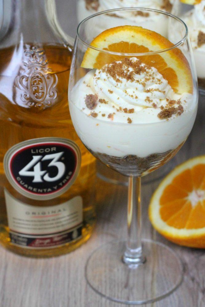 Sinaasappel Licor 43 tiramisu