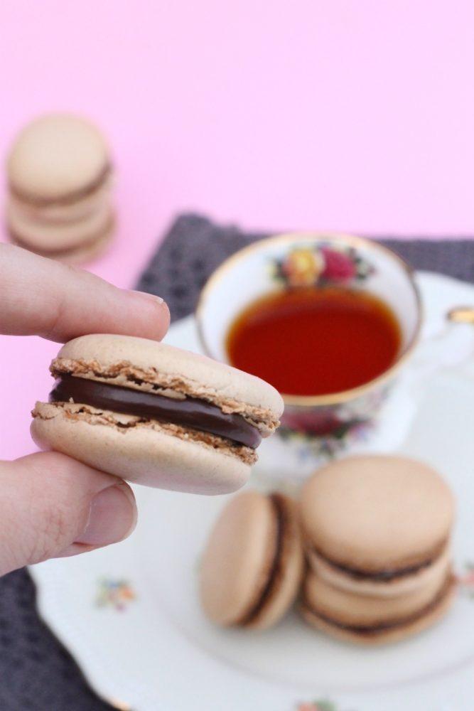 chocolade macarons