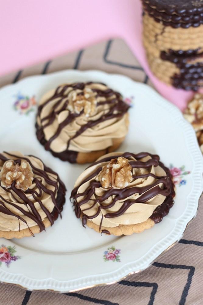 Mokkakoeken met chocolade jodenkoek