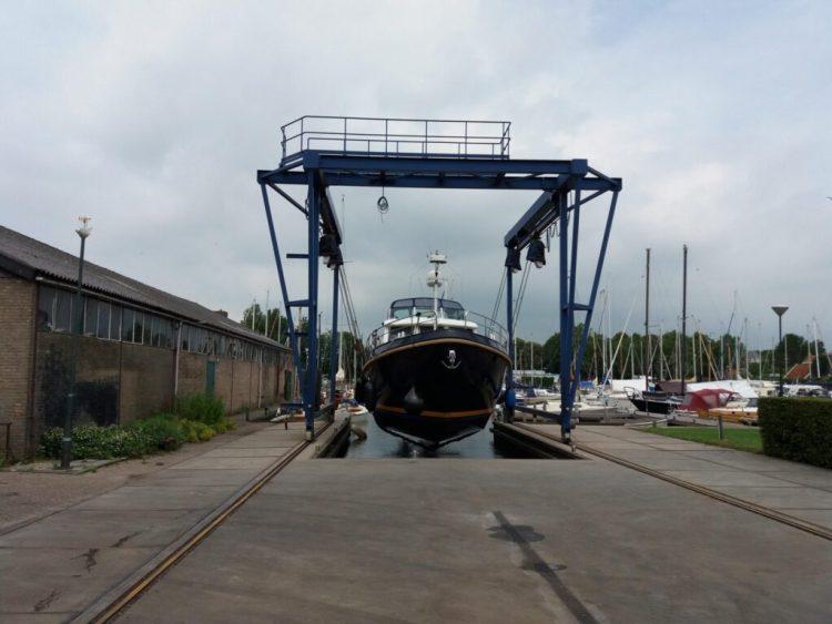 Bootskran 24 tonnen