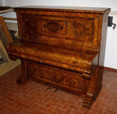 13. Pianoforte Reogh 1890, dopo il restauro