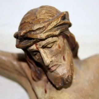 2. Scultura Cristo crocifisso, volto