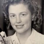 mijn demente moeder op haar trouwedag