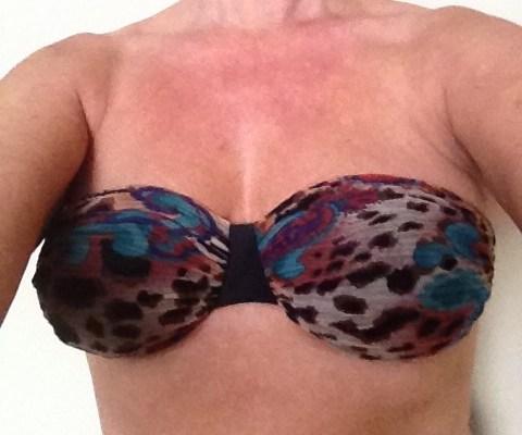 50plusmeisje in bikini