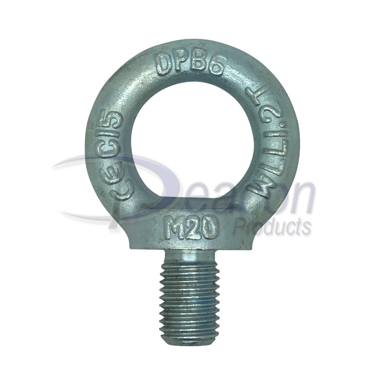 zinc-plated-eye-bolt