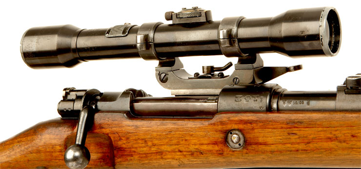 WWII German K98 Fitted With An Original ZF39 Scope