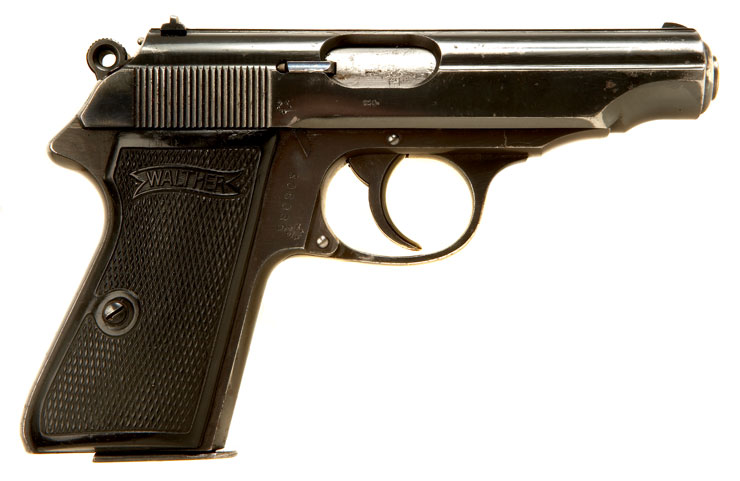 Deactivated Rare Pre WWII Early Production Walther PP with 90 Degree Safety - Axis Deactivated Guns - Deactivated Guns