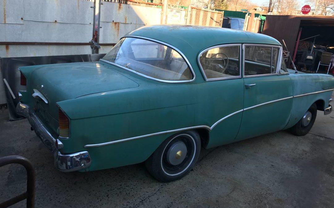 1960 Opel Rekord Coupe Deadclutch