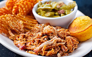 Dead End BBQ Pulled Pork Plate