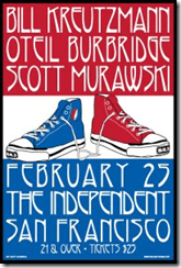 BK3 – Bill Kreutzmann, Scott Murawski, Oteil Burbridge February 27, 2010 in Oakland, California (private party)