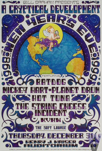 Ratdog, Mickey Hart Planet Drum, Hot Tuna, The String Cheese Incident – NYE D 1998-1999