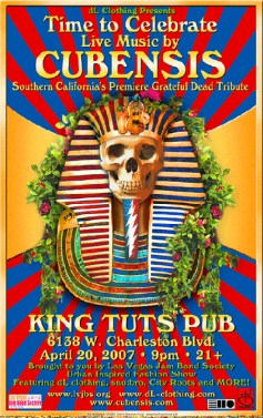 Cubensis at King Tuts Pup