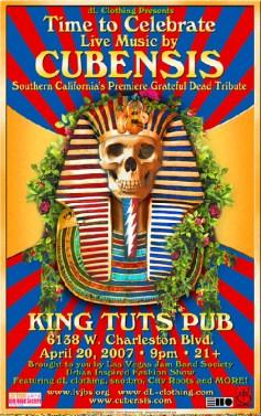 Cubensis at King Tuts Pup