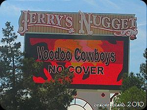 Jerry's Nugget - Voodoo Cowboys