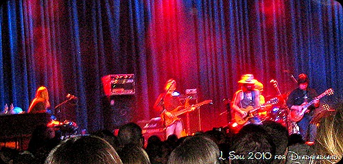 Jackie Greene and Friends celebrate at the Fillmore SF