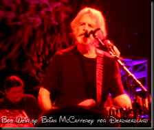 Bob Weir of Furthur at the Best Buy Theater in NYC