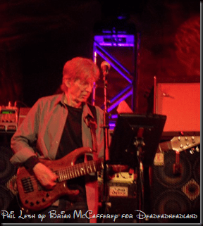 Phil Lesh of Furthur at the Best Buy Theater in NYC