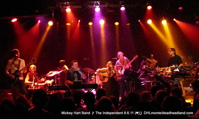 The Mickey Hart Band - Live at The Independent - Aug. 6 2011