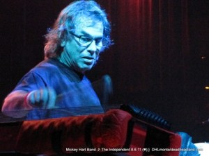 Mickey Hart - San Francisco Aug 2011 - Photo by DHL-Monte Gullo for Deadheadland