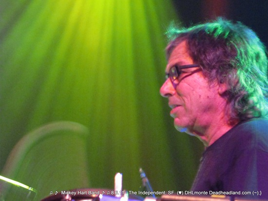 Mickey Hart Band - The Independent 8.6.11