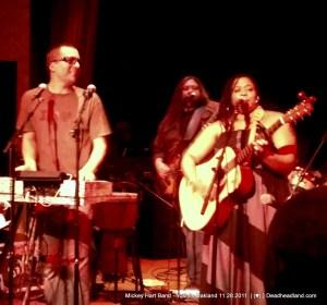 Tim Hockenberry, Crystqal Monee Hall, Mickey Hart band - Yoshi's 11.28.2011