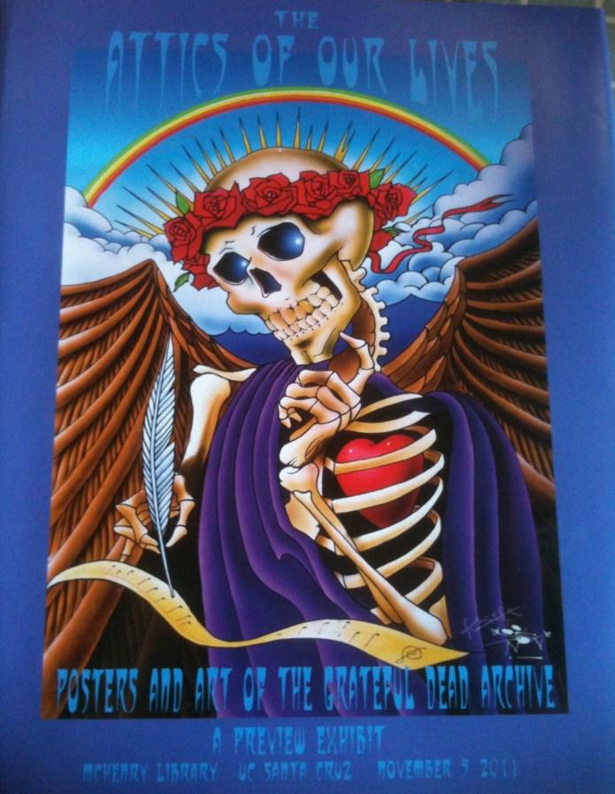 Art by Stanley Mouse - Attics Of Our Lives - Grateful Dead Archives