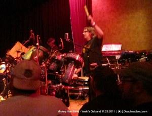 Mickey Hart - Mickey Hart Band - Yoshi's Oakland 11.28.2011