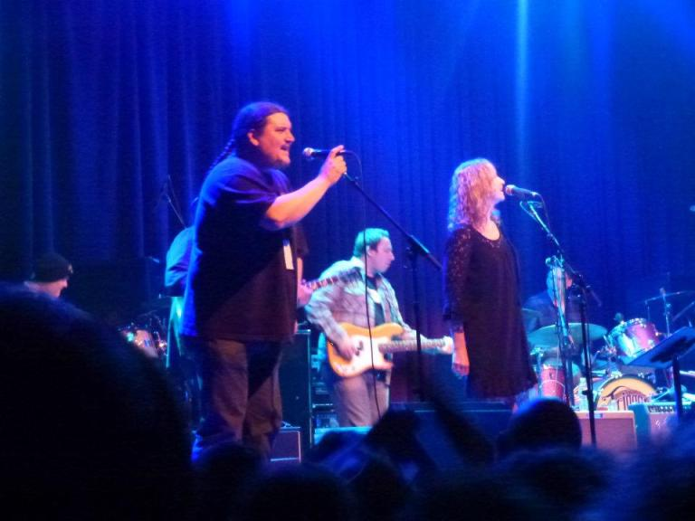 Jeff Pehrson and Joan Osborne, Jackie Greene and Friends on his 31st birthday | photo (♥) John Collins and Cathy Bille