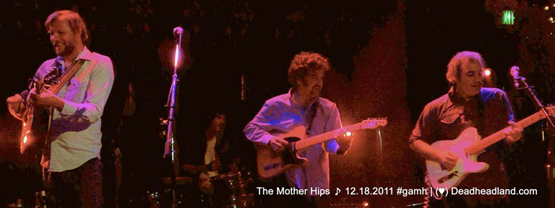 Scott Law - The Mother Hips at Great American Music Hall December 18 2011 | (♥) Deadheadland